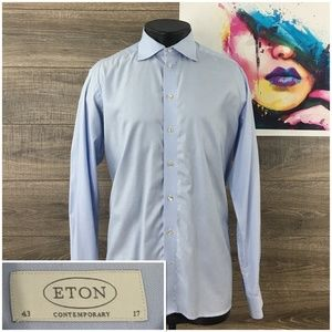 Eton Contemporary Mens Dress Casual Shirt